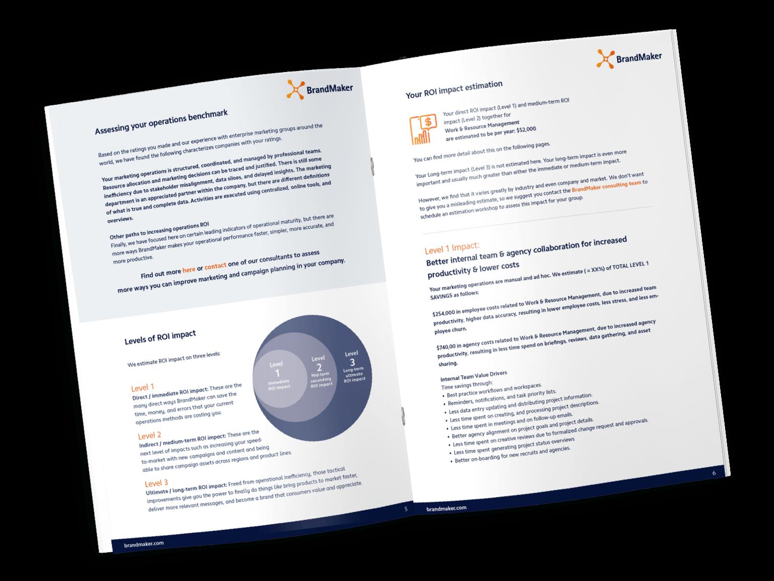 Roi Report Marketing english PDF