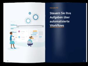 E-Book und Webinar: 7 Hinweise, die Sie bei Ihrer Contentstrategie unbedingt beachten sollten. Hinweis #3 Steuern Sie Ihre Aufgaben über automatisierte Workflows