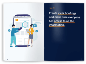 eBook. Create clear briefings and make sure everyone has access to all the information