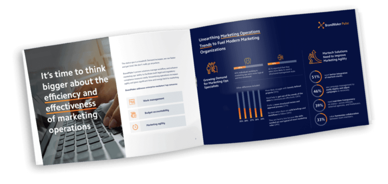 Mock up guide Agile marketing operations for banks