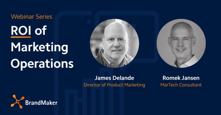 Webinar Serires ROI of Marketing Operations