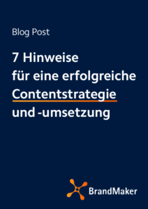 Blog Post: 7 Hinweise für eine erfolgreiche Contentstrategie und -umsetzung