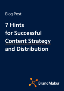 Blog Post: 7 Hints for successful content strategy and distribution
