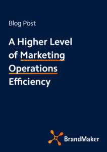 Blog: A Higher Level of Marketing Operations Efficiency