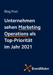 Blog: Unternehmen sehen Marketing Operations als Top Priorität im Jahr 2021