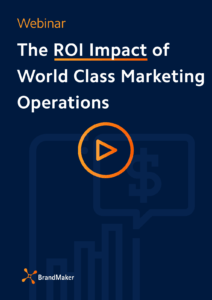 Webinar: The roi impact of world class marketing operations