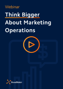 Webinar: think bigger about marketing operations
