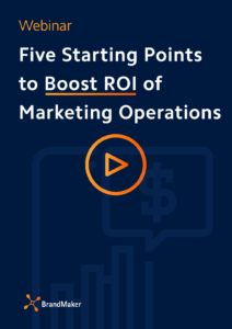 Webinar: five starting points to boost roi of marketing operations