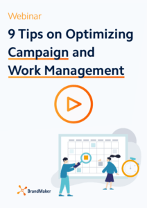 webinar 9 tips on optimizing campaign and work management