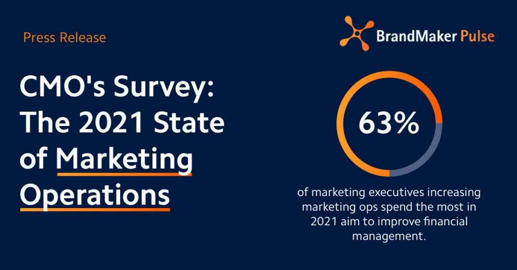 Press Release: CMO's Survey: The 2021 State of Marketing Operations