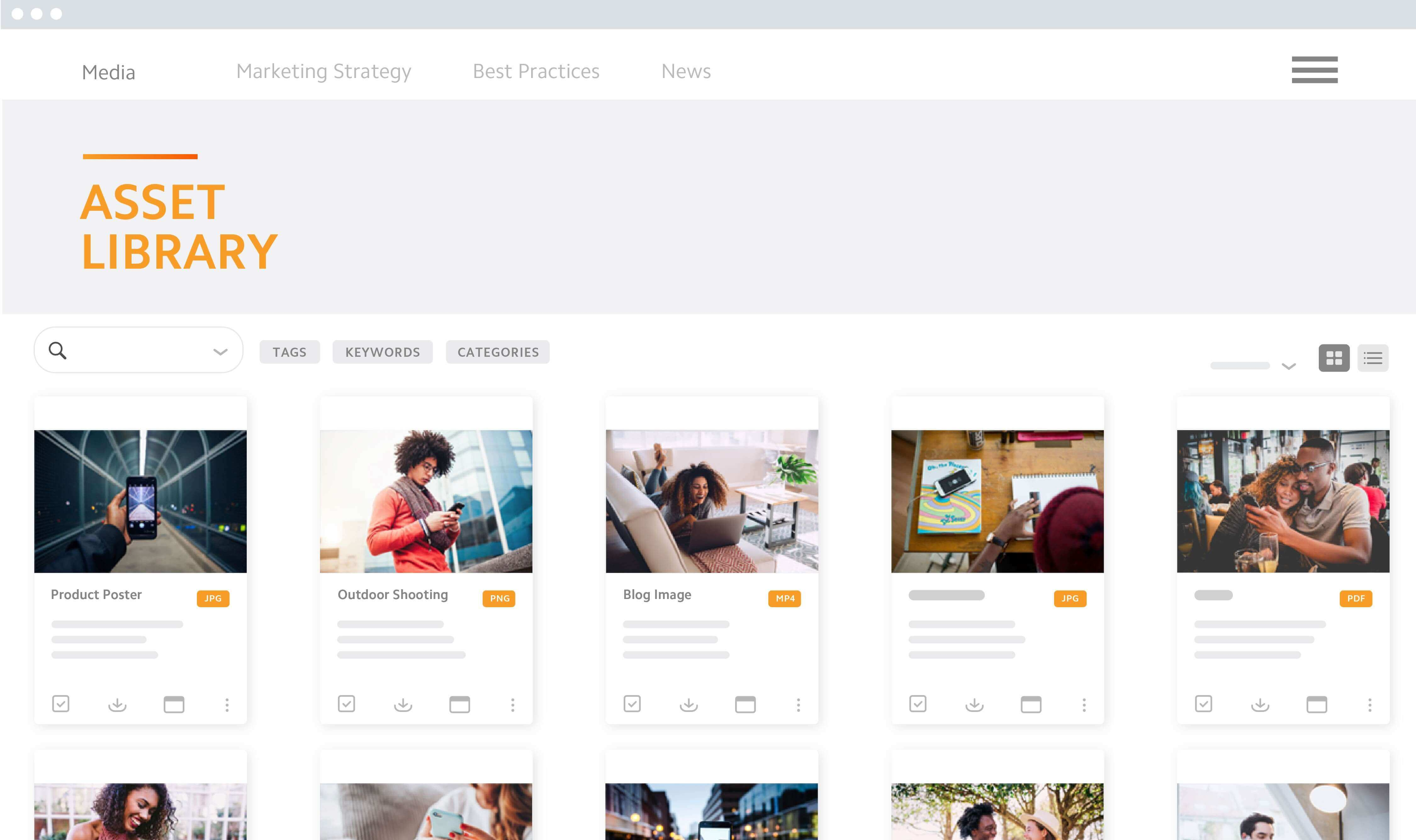 Brand Portal Asset Library