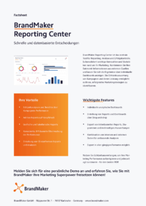 Product Factsheet BrandMaker Reporting Center
