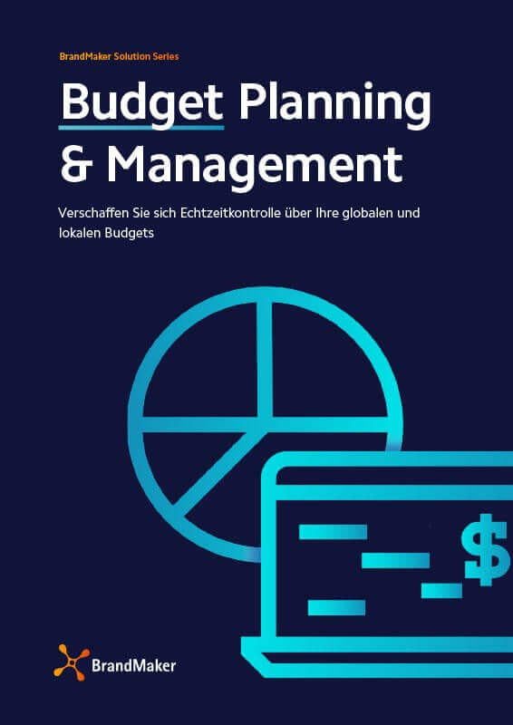 BrandMaker Solution Brochure Budget Management Deutsch