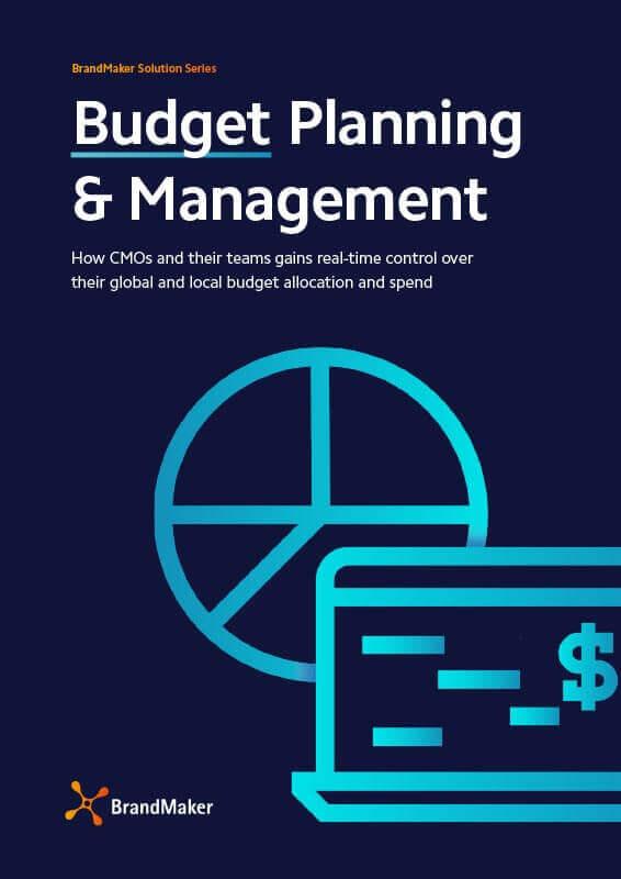 BrandMaker Solution Brochure Budget Management English