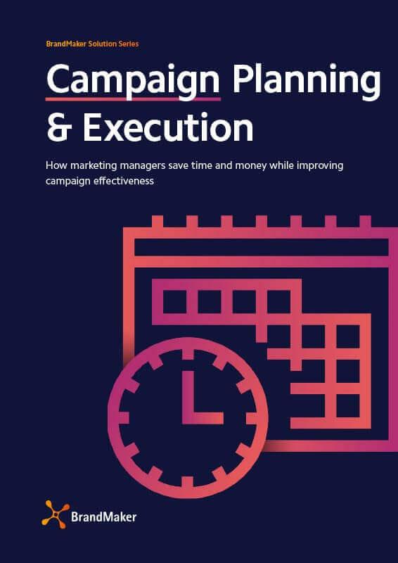 BrandMaker Solution Brochure Campaing Planning English