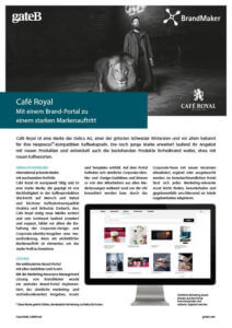 Case Study Cafe Royal