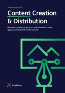 BrandMaker Solution Brochure Content Creation English