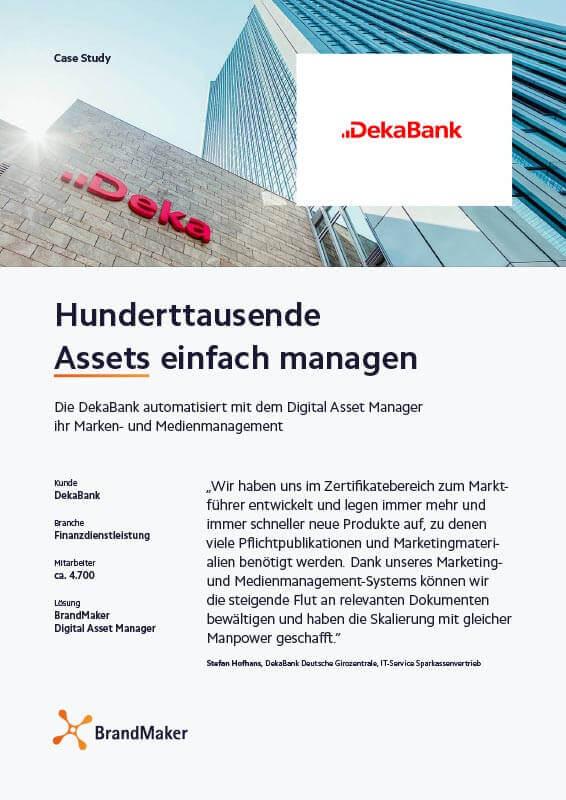 Case Study DekaBank BrandMaker