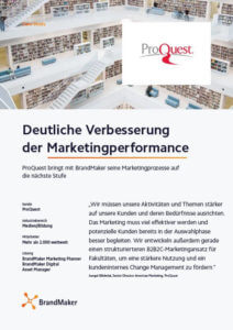Case Study ProQuest BrandMaker