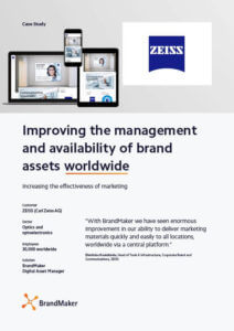 Case Study ZEISS BrandMaker