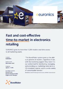 Euronics Case Study BrandMaker