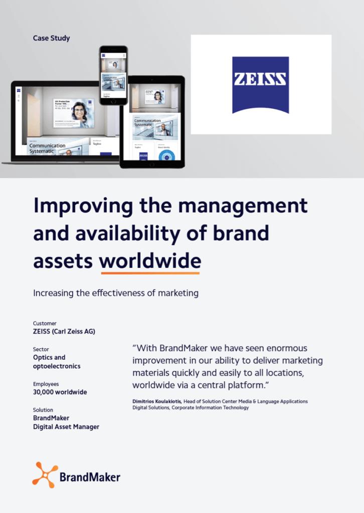 ZEISS Case Study - BrandMaker