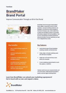 BrandMaker Product Factsheet Brand Portal EN