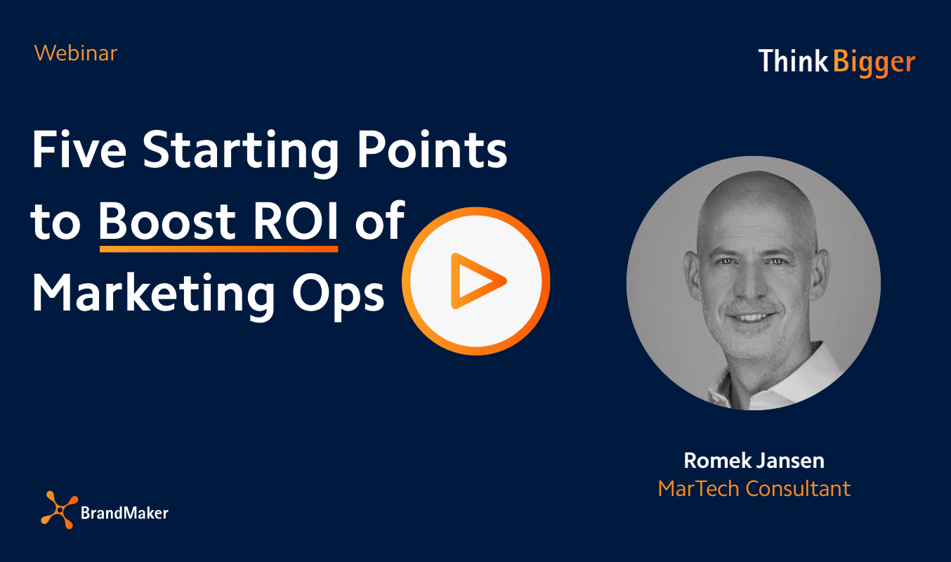 five starting points to boost roi of marketing ops webinar