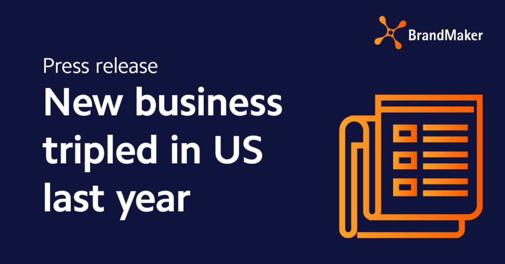 New business tripled in US last year